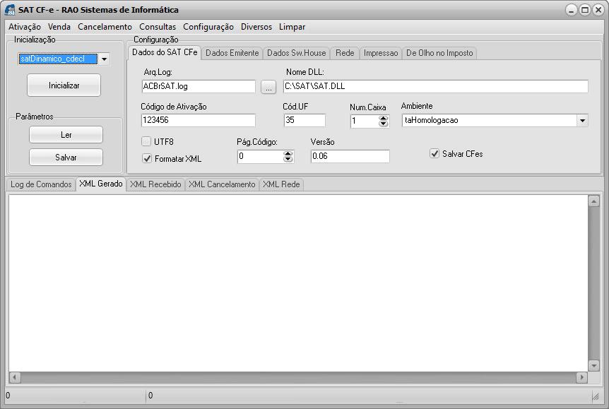 Basic 22 – Configurações do SAT